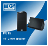 15 Inch PA Speaker with Stage Monitor Speaker For Concert Sound