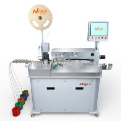 Automatic Single Head Terminal Crimping Tinning Machine