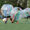 commercial soccer bubble ball