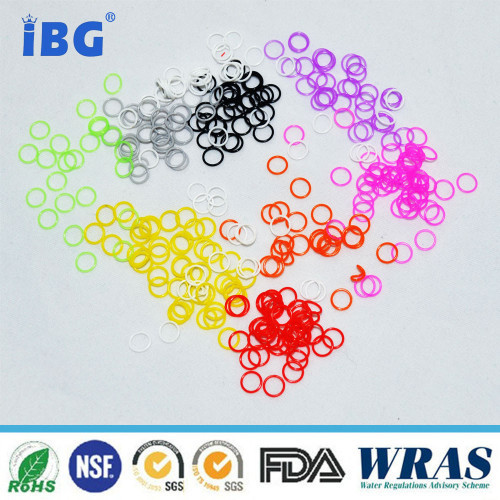 Mini small colorful rubber silicone o ring all kinds of rubber o ring viton