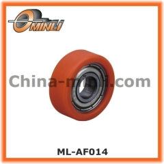 Sliding Pulley Covered with Nylon Outer Ring