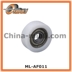 Bearing Roller with Plastic Flat Outer Ring