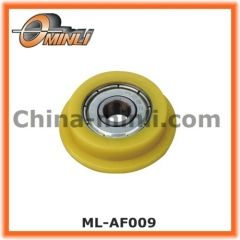 Plastic Coated standard Bearing with L Shape outer ring