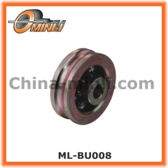 Window and door hardware metal pulley