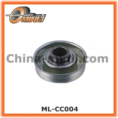 Bearing for skate wheel conveyor