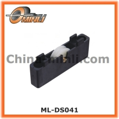 Manufactue window roller Gliding window and door Single Roller with Plastic Bracket
