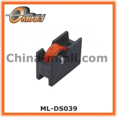 Special Plastic Bracket Pulley with Single Roller for Hot Sale