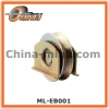 Sliding gate wheel with zinc coated