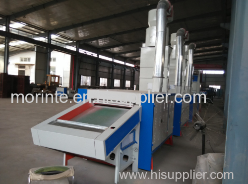 Automotive industry fiber opening machine