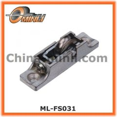 Zinc Bracket Pulley with Single Metal Roller