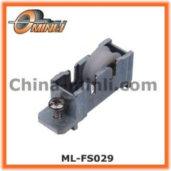 Zinc Bracket Pulley with Single Roller for Door and Window