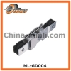 Aluminum Metal Bracket with Double Plastic Pulley