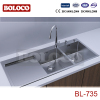 Double Bowl stainless steel KITCHEN BASIN