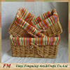 handmade willow basket Wicker handcrafts Eco-friendly household furnishing flower