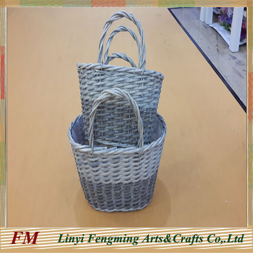 Cheap Christmas Willow Flower Basket