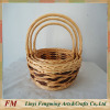 Gift Basket with handle natural wicker basket cheap picnic basket