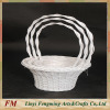 Flower basket with handle