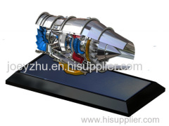 Diecast Aircraft Engine Model
