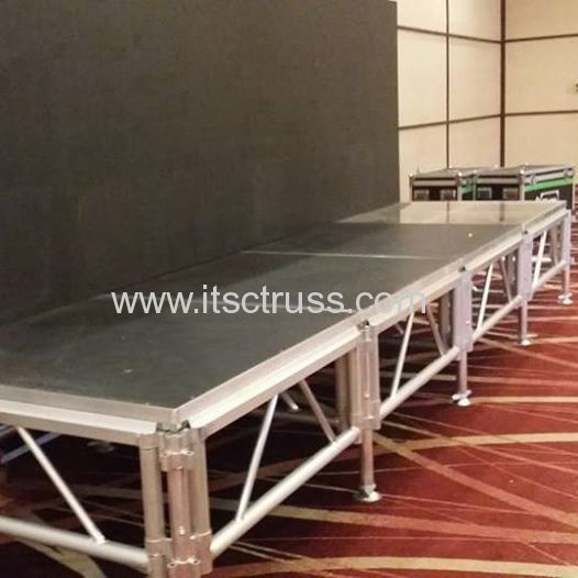 4ft x 4ft portable stages to Kenya
