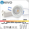 LED Spot light MR16 Dimmable COB GU10 LED Spotlight 5W 220V 12V LED Lamp Bulb Light univo lighting