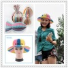 Party Supply Fun Magic Candy Color Series Paper Hat for children and women