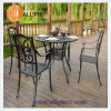 Outdoor Garden Patio Cast Aluminum Chat Group Furniture