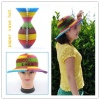 Colorful Plaid Paper Hat for Party Christmas Halloween Promotion Birthday