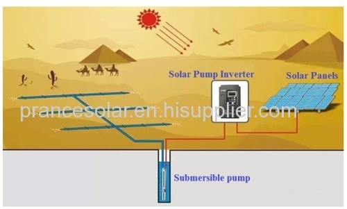 11kw solar irrigation water pump system