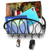 metal hook with magazine rack