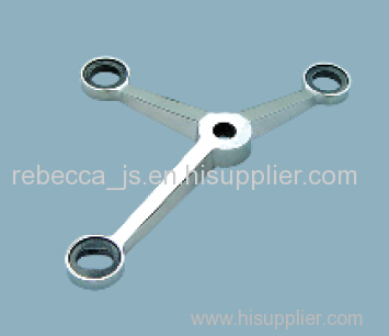 Stainless steel structural spider( 3-way)