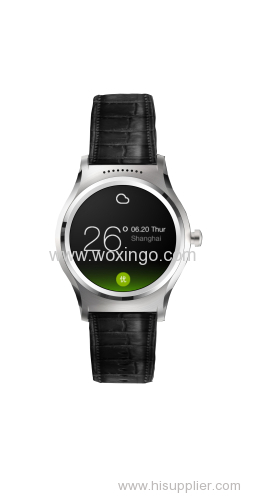 MTK2601 dual core android smart watch with GPS tracker 2G/3G phone call