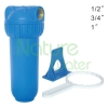 undersink single blue water filter