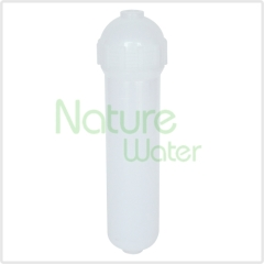 in-line water filtration housing