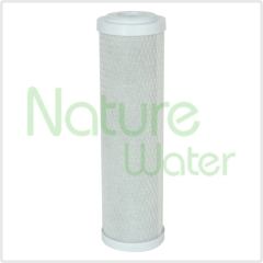 5 micron 10 inch Block Carbon Filter Cartridge