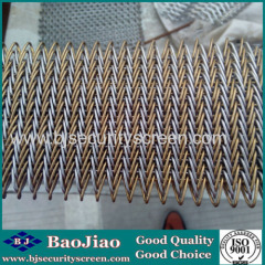 Stainless Steel Decoration Mesh used for Wall Panels/Wall Curtains/Interior Shade/Building Facade/Sunscreen
