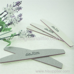 OEM halfmoon nail file manufacture nail manicure tool