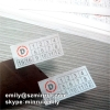 Custom 22x10mm Self Destructive Stickers for Paper Warranty Stickers