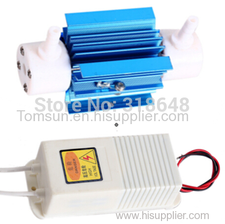 Silica Tube Ozone Disinfector 5g/h High Efficiency Low Power Consumption