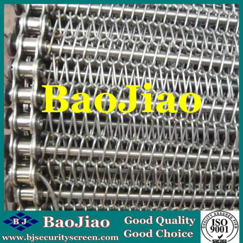 304/316/316L Stainless Steel Conveyor Belt for Draining/Cooling/Drying/Electronics/Package Transfer/Glass Annealed