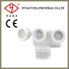 Triplehead motion sensor outdoor flood lihgt