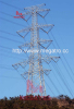 765KV four circuit transmission tower