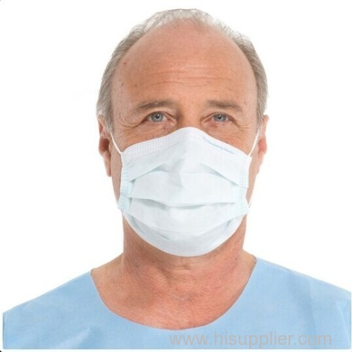 3ply Non Woven Earloop Disposable Face Mask-China-Manufacturer-Hubei Xtra Safety