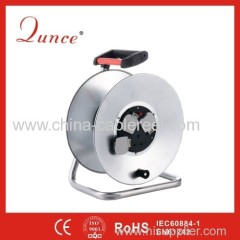 50m 240V 13Amp steel cable reel with Shutter&Dust Resistance Cover