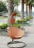 Outdoor garden rattan wicker hammock chairs supplier
