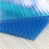 UNQ Colorful surface 6mm Twin Wall Hollow Polycarbonate Wall Protection Sheets with UV Coating
