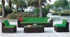 Outdoor garden sectional sofa set furniture supplier