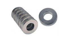 coated znic Sintered ndfeb ring magnets for hot sale
