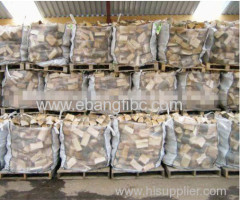ventilated fabric FIBC big bag for firewood