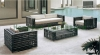 Wicker patio garden sofa sets furniture with cushion and pillows sale
