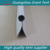pvc tent keder 10mm double flap with tent accessory